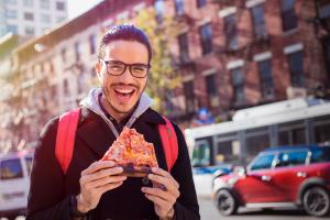 La pizza es una parte importante de la comida italiana